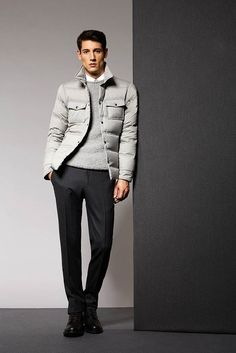 Aquascutum Men's RTW Fall 2015 -