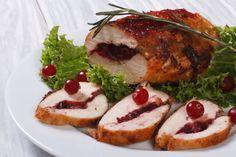 Kuracie prsia plnené brusnicami Camembert Cheese, French Toast, Pork, Dishes, Chicken, Meat, Breakfast, Recipes, Pork Roulade