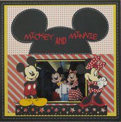 Mickey and Minnie - Scrapbook.com