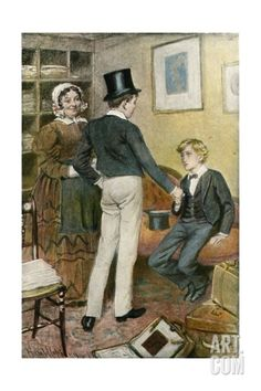 'His Name's George Arthur' Giclee Print by Harold Copping at Art.com