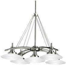 View the Kichler 2055 Contemporary %2F Modern 5 Light Down Lighting Chandelier from the Structures Collection at Build.com.