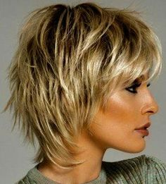 2018 Trend Kurzhaarschnitte für feines Haar Haircuts over 50 with fine hair # Related posts: Some Amazing Short Hair Cuts For Women – 100 short hairstyles for thick and thin hair for 2018 Short Hair 23 New Short Hair with Color Short Shag Hairstyles, Short Layered Haircuts, Short Hairstyles For Women, Hairstyles Haircuts, Trendy Hairstyles, Layered Hairstyles, Winter Hairstyles, Haircut Short, Haircut Bob