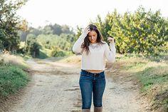 Senior Girl - Fall Photoshoot // Kate Tandy Photography