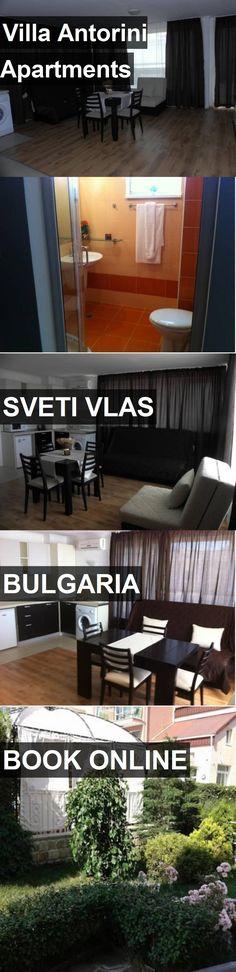 Villa Antorini Apartments in Sveti Vlas, Bulgaria. For more information, photos, reviews and best prices please follow the link. #Bulgaria #SvetiVlas #travel #vacation #apartment