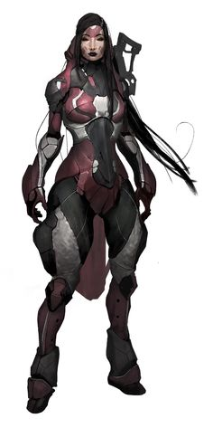 Female Human Character.  Art by Milan Nikolic. Find the game at: http://burning-games.com