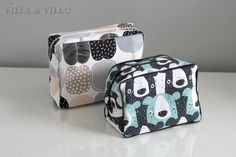 Good instructions for a little bag. Diy Projects To Try, Crafts To Do, Diy Pouch Bag, Sewing Crafts, Sewing Projects, Diy Bags Purses, Pencil Bags, Diy Dress, Sewing For Beginners
