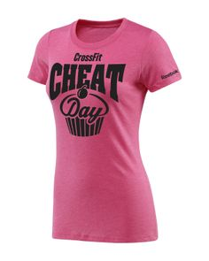 CrossFit HQ Store- Her Cheat Day Tee - Women Buy Authentic CrossFit T-Shirts, CrossFit Gear, Accessories and Clothing