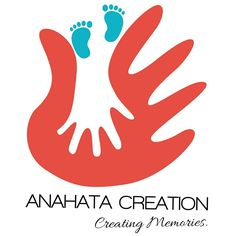 Anahata Creation Hand Casting Bangalore Colorful Logo. Creating Memories. Bangalore. Events, Art and crafts, Sculptures, etc.
