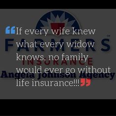 We can replace your house your car your personal belongings and your roof but we can't replace you. But life insurance will ease the burden of financial struggles without you.  This is the most important policy I offer. Do you have questions?  I have a policy to fit your needs and your budget no matter how large or how small. . . . . . by texasinsurancepro