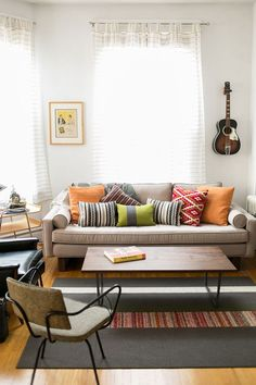 living room vibes #hometour #theeverygirl