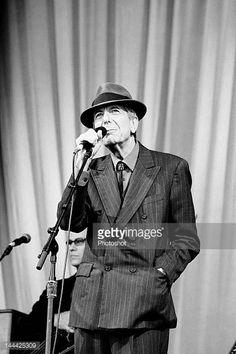Leonard Cohen performing live at the 2008 Glastonbury Festival 29th June 2008 Job 48421 Ref EWT NonExclusive
