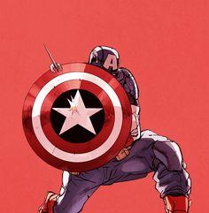 Cap in Avengers Millennium Infinite Comic