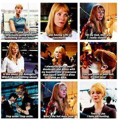 Pepper Potts Moments I Iron Man I Gwyneth Paltrow