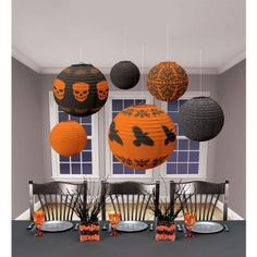 Buy Halloween Lantern Decorations from Tiger Feet Party. Decorate your home or party with these spooky Halloween lantern decorations. The decorations Halloween Prop, Modern Halloween Decor, Spooky Halloween Decorations, Outdoor Halloween, Halloween Party Decor, Halloween House, Halloween Crafts, Halloween Ideas, Reddit Halloween