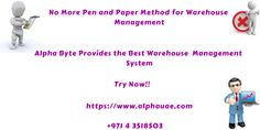 Complete Warehouse management software with complete inventory software and accounting including shipping, sorting, and storing in Dubai, Abu Dhabi, UAE Warehouse Management System, Managing People, Pen And Paper, Cloud Based, Web Browser, Uae, Physics, Software, Physique