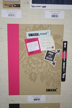 Smash Journal... sometimes it's nice to have one that's not homemade - made one from our cruise.