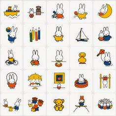 This Girl Lel: IXXI Does Nijntje #miffy #nijntje #decorate #wall #kids #children #ABC