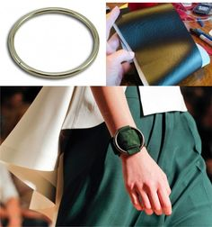 pulsera Celine DIY muy ingenioso 1