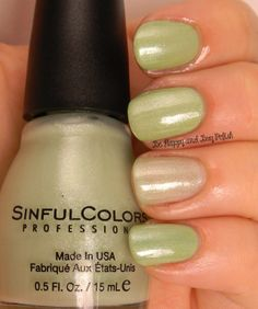 Sinful Colors Bring it Sheer over Song of Summer | Be Happy And Buy Polish http://wp.me/p3n4zP-1ja
