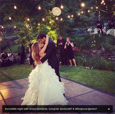 Eric Decker and Jessie James First dance .♥♥♥