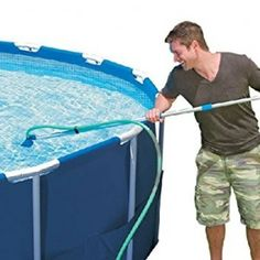 INTEX Cleaning Maintenance Swimming Pool Kit with Vacuum & Pole Water Activities, Summer Activities, Above Ground Pool Vacuum, Intex Pool Vacuum, Swimming Pool Kits, Swimming Pool Maintenance, Pool Accessories, Garden Hose, Summer Fun
