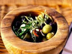 Ancient Roman recipe for Olive and Herb tapenade.