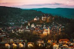 Medieval town, Sighisoara by Marius Neag