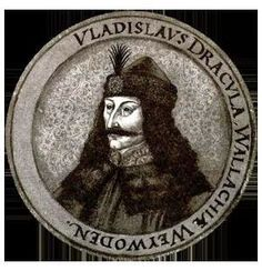 Vlad III Dracula (real name Vlad Tepes) was a prince of a small region of Romania named Wallachia in the century.Vlad Tepes was the grandson of Mircea the Elder, prince of Wallachia during a great time of war between Hungary and the Ottoman Empire. Vlad Der Pfähler, Vlad El Empalador, Vampiro Real, Wicca, Vampire Legends, Famous Vampires, Order Of The Dragon, Scary Vampire, Vlad The Impaler