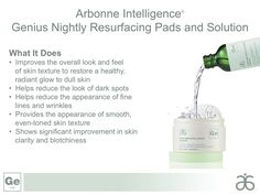 Arbonne Intelligence Genius! My favorite Arbonne Product to date. It has completely changed my skin. Moisture, firmness, and no more breakouts! Seriously amazed. Best Part? 100% natural.