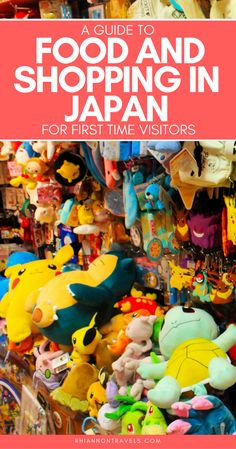 A Guide to Shopping & Food in Japan for First Time Visitors
