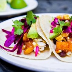 Fish Tacos with Mango Corn Salsa HealthyAperture.com