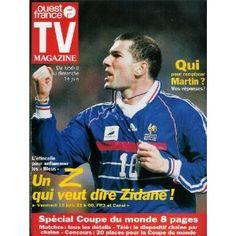 Zinedine zidane et enzo zidane avec le ballon d 39 or - Zidane coupe du monde 1998 ...