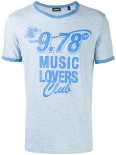 Diesel Camiseta 'Music Lovers'