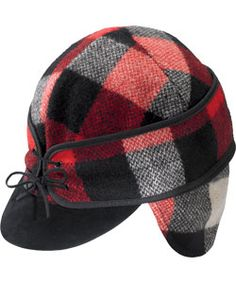 Looking for that special gift made in the USA? Here it is. Woven in the Woolrich Mill in Woolrich, PA, this cap will keep you warm and fashionable all winter. #madeinUSA #woolrich1830