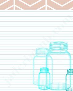 Mason-Jar-Printable-Jaderbomb- 4 different color tabs