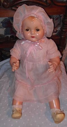 Effanbee Sugar Baby all original Composition  Doll