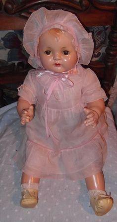 Effanbee Sugar Baby all original Composition  Doll