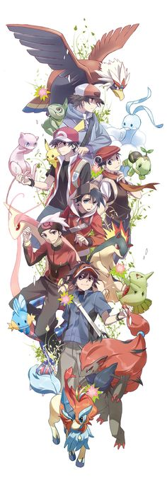 Day 13: I would like to be a pokemon trainer, 1) have more freedom than I do now 2) travel the world 3) become a legend..