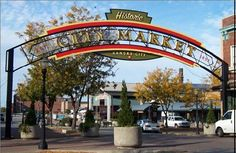 City Market is a farmer's market, dining, and entertainment district
