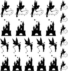 Tinkerbell Disney decals for your nails