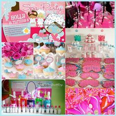 spa party ideas for girls birthday | visit thepartymuse blogspot com