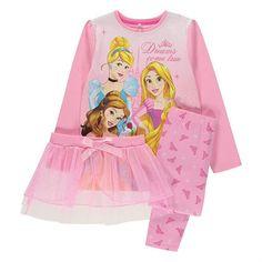 Lasten Disney Prinsessat tutu pyjama