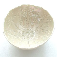 Porcelain Dish  143365  Dish a Day Project by seaurchin on Etsy