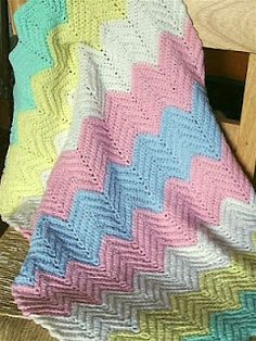 Looks just like the blanket my Nanny made me as a teenager