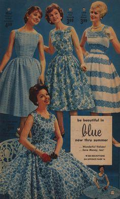 Florida fashion 1956 - dresses