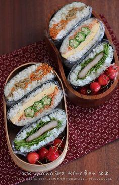 Onigirazu Bento | mana's Kitchen