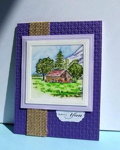 WT476 Spring at the Cabin by catluvr2 - Cards and Paper Crafts at Splitcoaststampers
