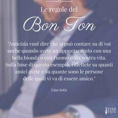 Segui sempre le regole del #bonton
