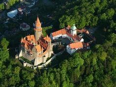 Bouzov castle, Czech Republic Czech Republic, Prague, Hungary, Beautiful Places, Tours, Explore, Country, World, Amazing
