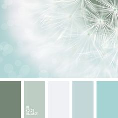 All the shades of sky blue would be good for the bed
